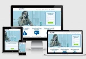 KMC Responsive website