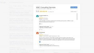 KMC google Review